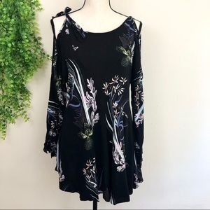 Free People Clear Skies Cold Shoulder Tunic Dress